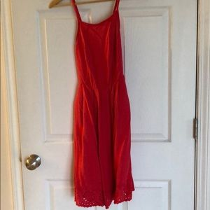 Pink SO Dress with pockets size medium